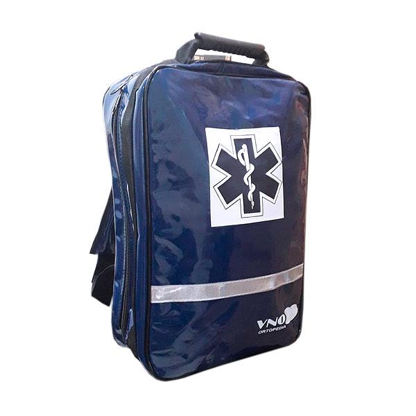 Bolsa de Resgate ortopédico Emergência Azul Escuro SAMU VNO