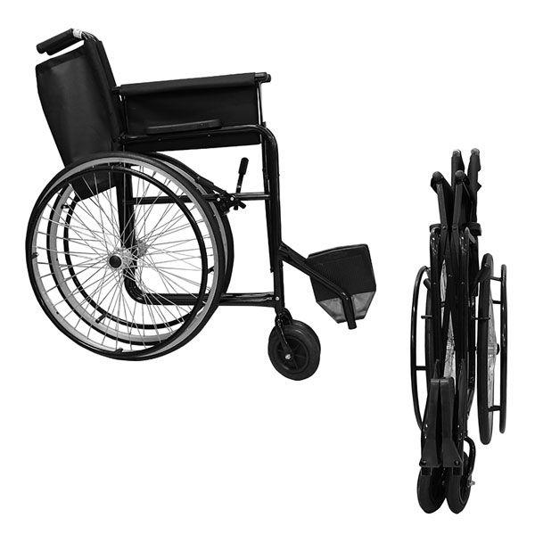 Cadeira de Rodas Aro Alumínio com Pneu Maciço RX40 Dune