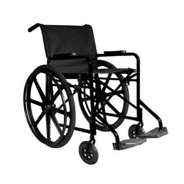 Cadeira de Rodas Aro Plástico Com Pneu Maciço RX40 NM Dune
