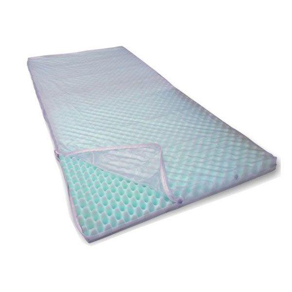 Capa Ortopedico Para Colchoes Piramidais Solteiro Branca