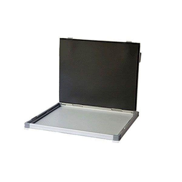 Chassis Radiografico Alumínio + Grade 103 Linhas 24x30cm Kiran Lumax