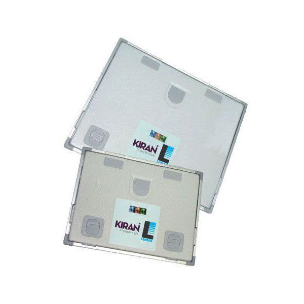 Chassis Radiografico Alumínio sem Janela 15x30cm (Peça) Kiran Lumax