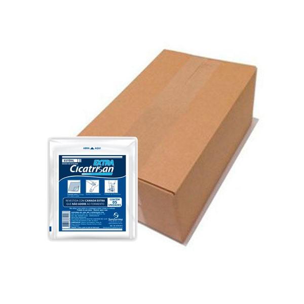 Compressa Não Aderente Extra Estéril Caixa Com 40 UN Cicatrisan