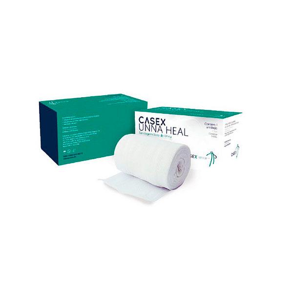 Curativo Bandagem Bota de UNNA 10,2cm x 9,14m CASEX