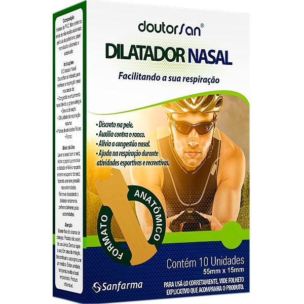 Dilatador Nasal Masculino Caixa com 10 unidades Sancare