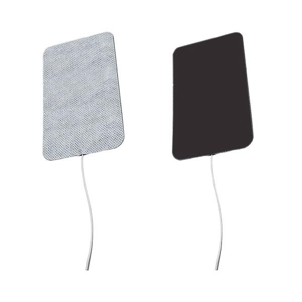 Eletrodo Adesivo Flexível Fisioterapia Com 2 Unidades Retangular 7,5 x 13cm Carci