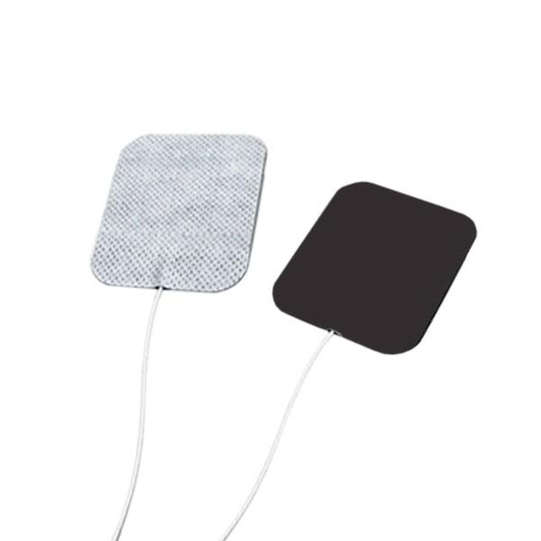 Eletrodo Adesivo Flexível Fisioterapia Com 4 Unidades Quadrado 5 x 5cm Carci