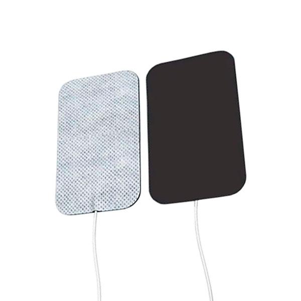 Eletrodo Adesivo Flexível Fisioterapia Com 4 Unidades Retangular 3 x 5cm Carci