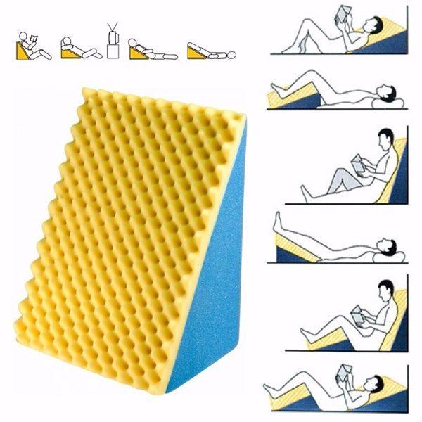 Encosto Ortopédico Apoio Confortável Triangular Quality Life