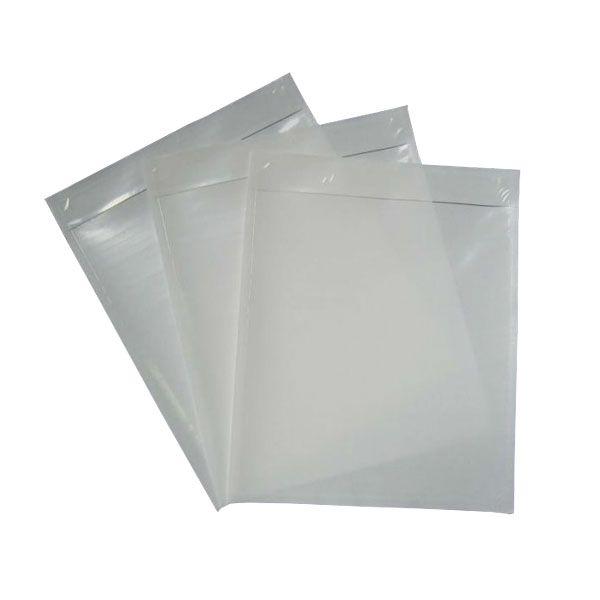 Envelope Plastico Leitoso 26 x 32 cm x 0,12 micras (Pacote com 1000 unidades)