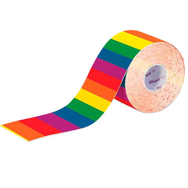 Fita Kinésio Bandagem Adesiva Arco-íris Tmax