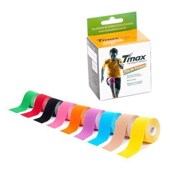 Fita Kinésio Bandagem Adesiva Funcional Profissional Tmax