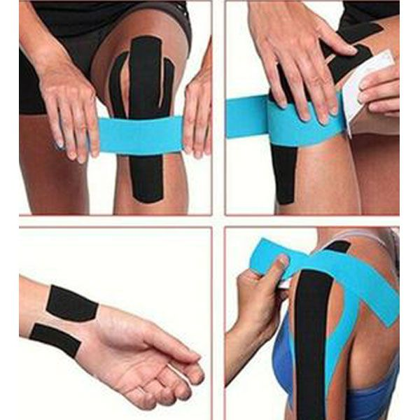 Fita Kinésio Bandagem Funcional Elástica 5cm x 5mt Dermatape