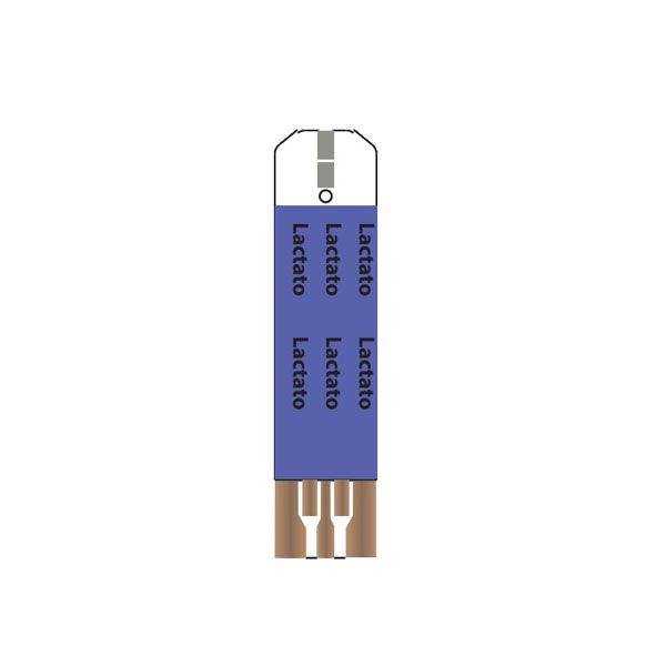 Fitas Testes Lactato DETECT STRIP  Kit Com 25 Testes Ecodiagnóstica