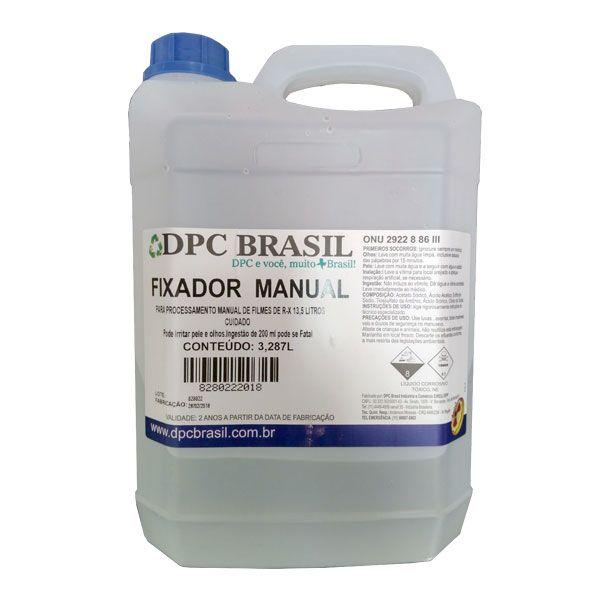 Fixador Manual Para Radiografia 13,5 Litros DPC Brasil