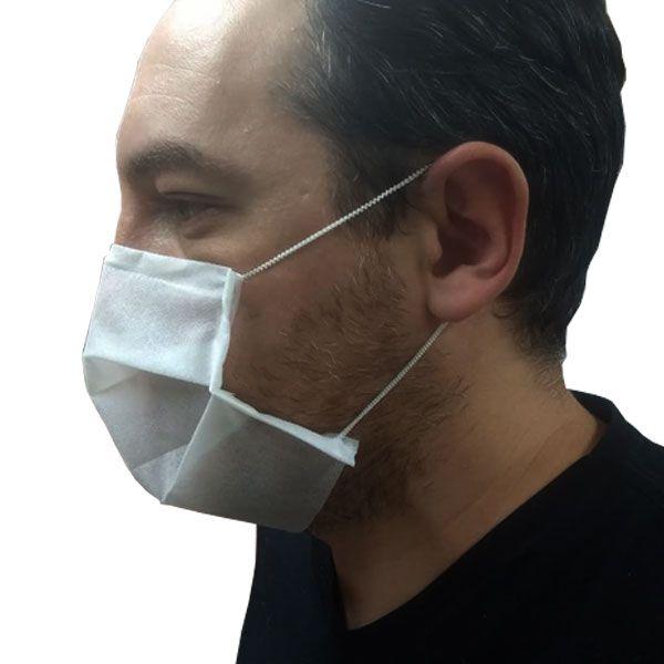 Máscara de Proteção Facial em TNT Com 10 Und. Cipel