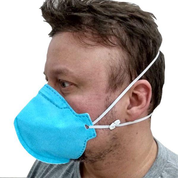 Máscara Descartável de Proteção Respiratória PFF-2 GRAZIA