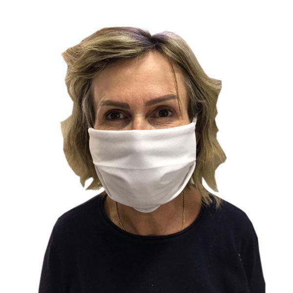Máscara de Proteção Tecido 100% Algodão Lavável Zapmédica