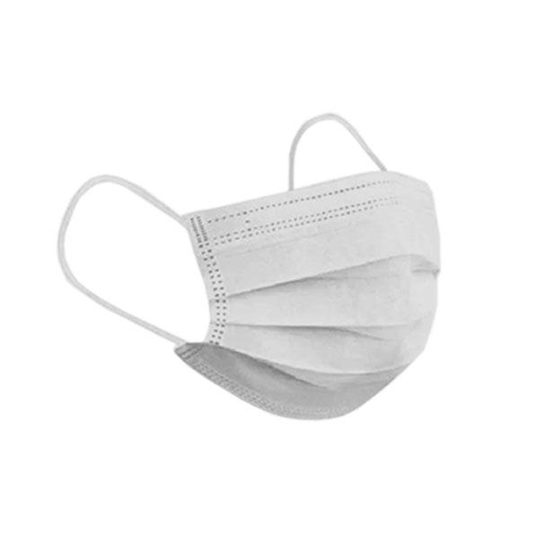 Máscara Tripla Descartável com Elástico Caixa Com 50 unidades Descarpack