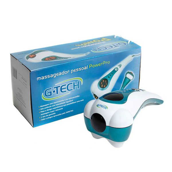 Massageador Manual Relaxante da Tensão G-TECH POWERPRO 220V