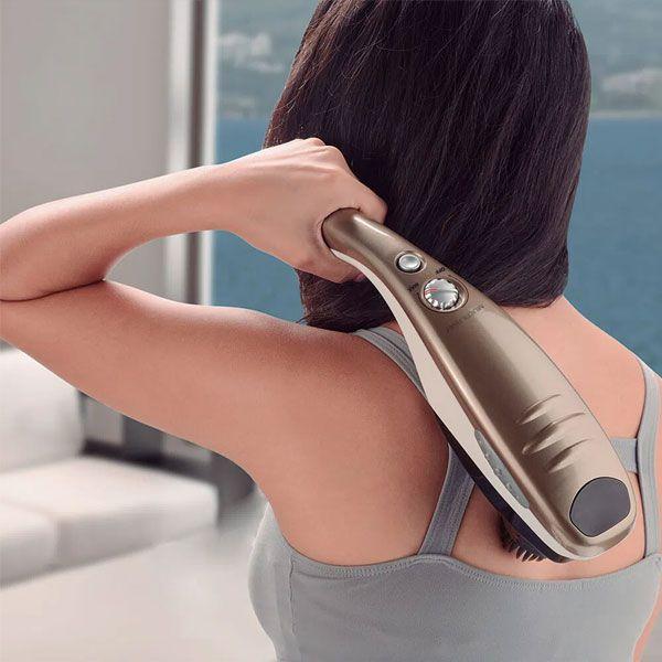 Massageador Portátil Relaxante Hammer EZ Reach Pro 110v Multilaser