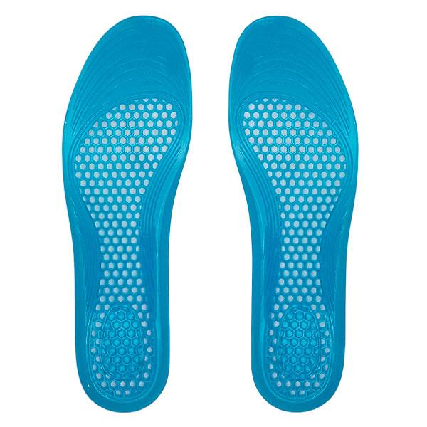 Palmilha Ortopédica Recortável de Silicone Inteira Azul A.K