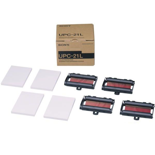 Papel UPC 21L 200 Folhas Colorido Sony