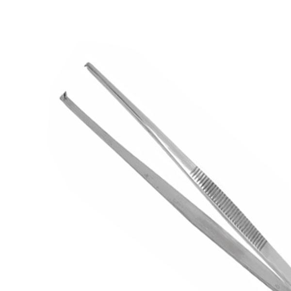 Pinça Hospitalar Cirúrgica Reta Dissecção Dente de Rato 11,5cm Weldon