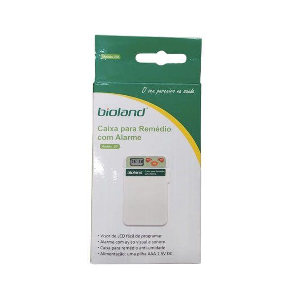 Porta Comprimido com Alarme 201 Bioland