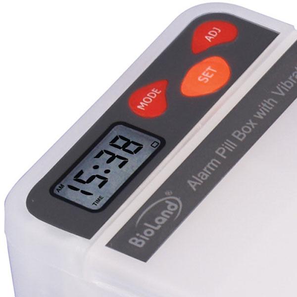 Porta Comprimido com Alarme Vibratorio 202v Bioland