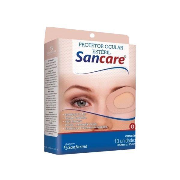 Protetor Ocular Estéril Com 10 unidades Sancare