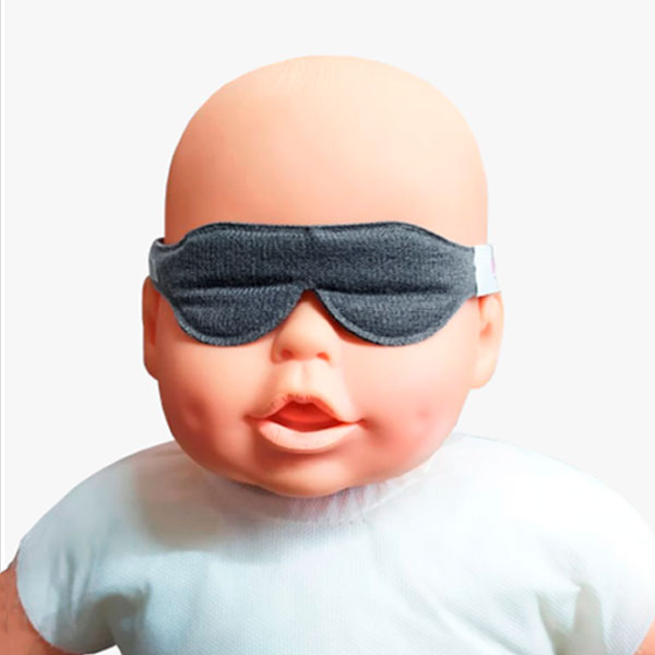 Protetor Ocular Para Fototerapia Tiras Cinza Dejamaro