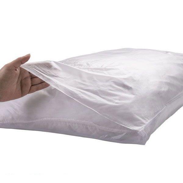 Protetor Ortopédico Travesseiro Fronha Branco 0,08mm