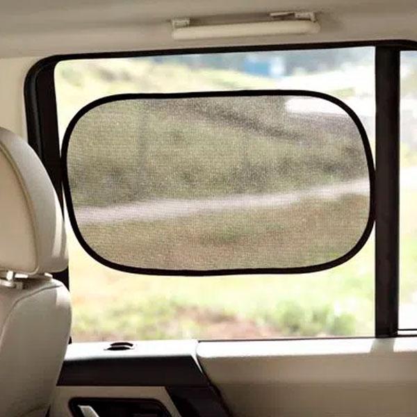 Protetor Solar Duplo Para Vidro de Automóvel BB076 Multilaser