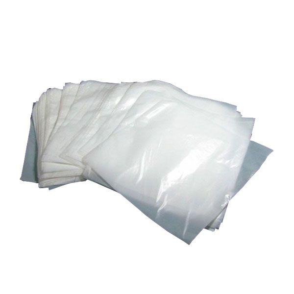 Saco Plastico Leitoso 37 x 45 cm x 0,10 micras (Pacote com 1000 unidades)