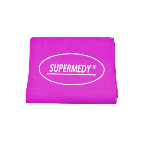 Superband Faixa Elástica Nível Médio Rosa Supermed