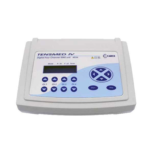 Tensmed IV Tens Digital 04 Canais Fisioterapia Reabilitação Carci