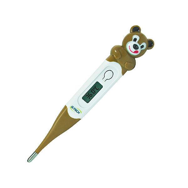 Termômetro Clinico Digital Flexível TH 400  Ursinho Inmetro G-TECH