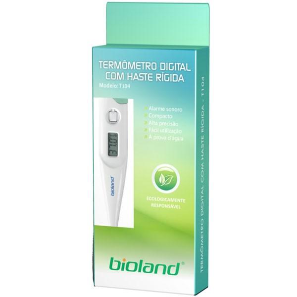 Termômetro Clínico Digital Haste Rígida T104 Bioland