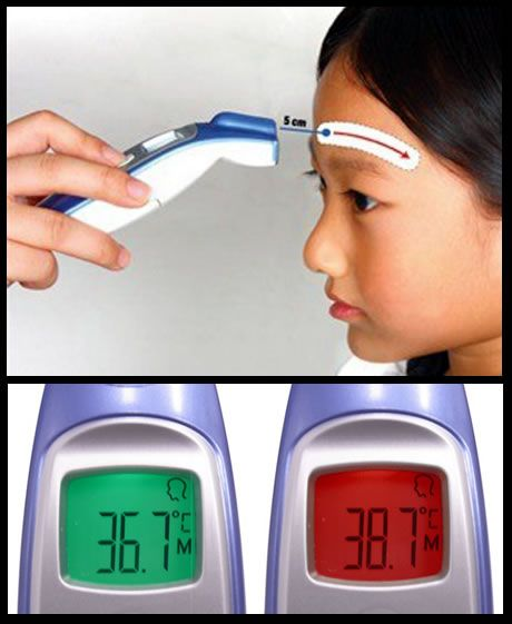 Termômetro Clínico Digital Sem Contato FR1DZ1 G-TECH