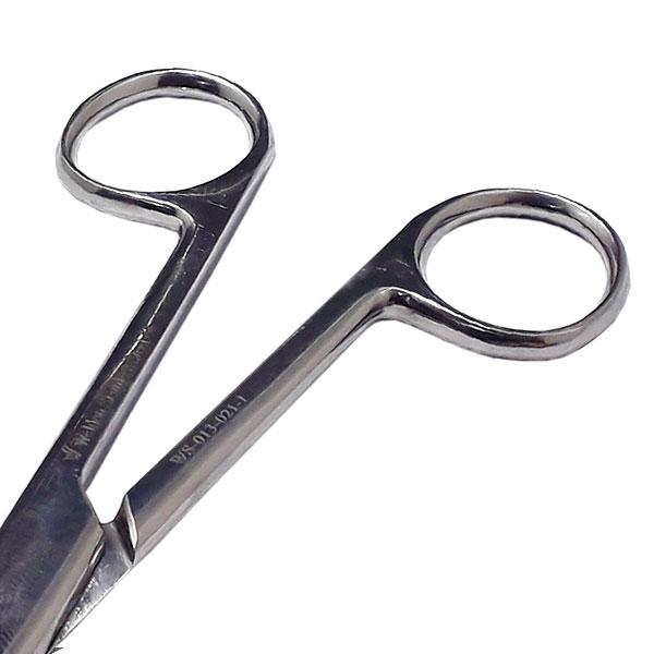 Tesoura Hospitalar Cirúrgica Reta 15cm Fina/fina Weldon