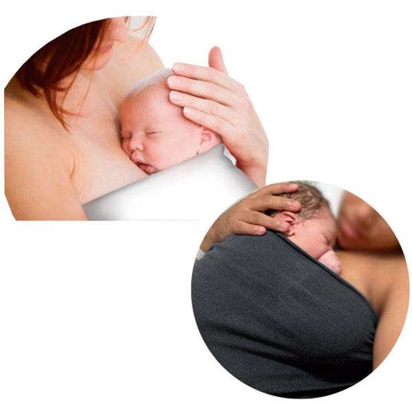 Top Baby Sling Bebê e Mamãe GG 40X40cm Dejamaro