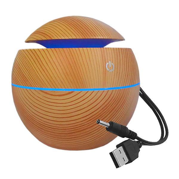 Umidificador e Difusor de Ar Com LED A.K