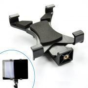 Adaptador Tablet Celular Montagem em Tripé Monopé ou Bastão - SP14