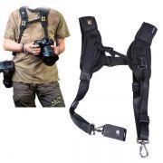 Alça Dupla para Câmera DSLR tipo Quick Strap - SB17