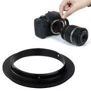 Anel Inversor Canon 58mm - Macrofotografia