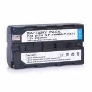 Bateria Li-ion para Iluminador Led - NP F550