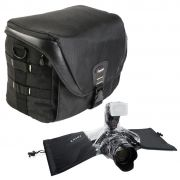 Bolsa Camera DSLR Video Laptop - Fancier FB 300 AW com Capa de Chuva DSLR