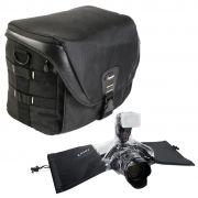 Bolsa Camera DSLR Video Laptop - Fancier FB 300 AW com Capa de Chuva DSLR