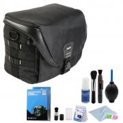 Bolsa Camera DSLR Video Laptop - Fancier FB 300 AW com Kit de Limpeza EC01